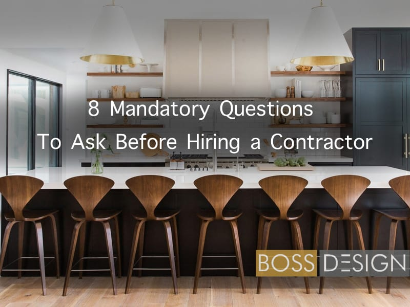 Questions To Ask When Hiring A Contractor